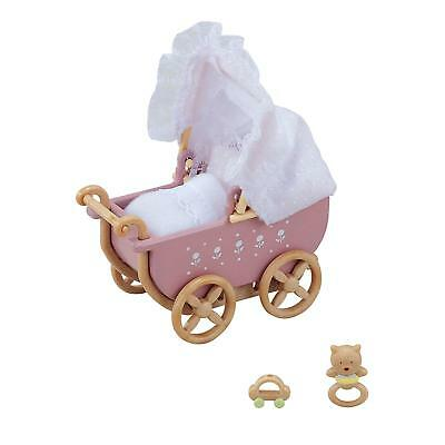 Epoch Calico Critters Sylvanian Families BABY CARRIAGE Japan free ship