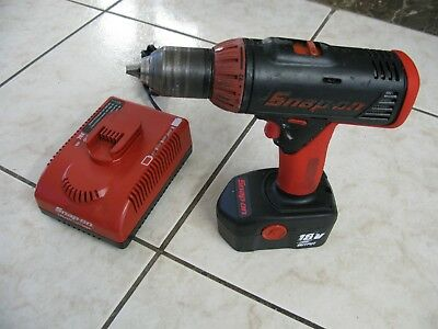 """Snap-On CDR6850A 1/2"""" 18V Drill/Driver w/ Battery and Battery Charger"""