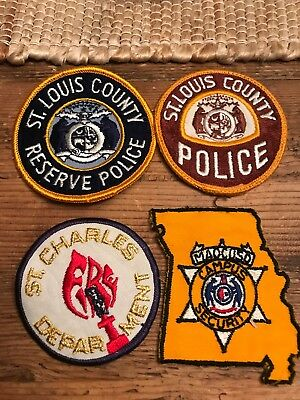 Vintage Police /Fire Patches