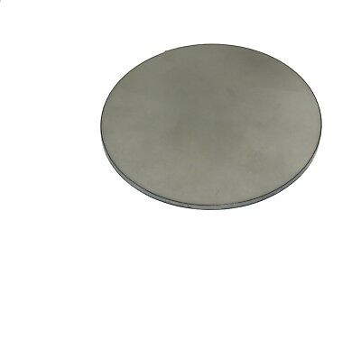 """3/16"""" Stainless Steel 304 Plate Round Circle Disc 4"""" Diameter (.1875"""")"""
