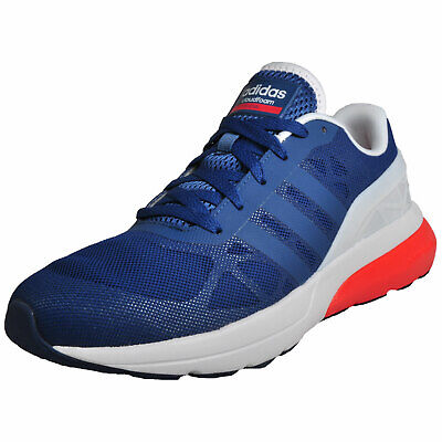 af7a7382cc67b Adidas Neo Cloudfoam Flow Men s Running Shoes Fitness Gym Trainers Blue