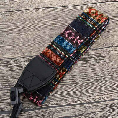 Universal Camera Neck Shoulder Wrist Strap Vintage Carrying Belt for Nikon Canon