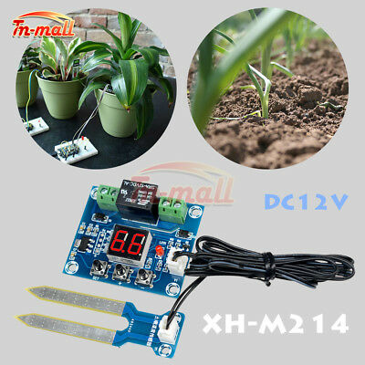 Soil Humidity Sensor Controller Irrigation System Automatic Watering LED Module