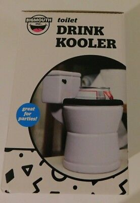 BigMouth Inc Toilet Shaped Drink Cooler Insulated Keeps Drinks Cool