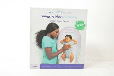 Baby Delight Snuggle Nest Harmony Infant Sleeper/Baby Bed wit BD3004 - Preowned