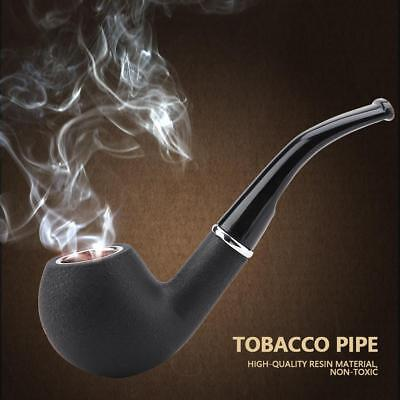 Detachable Resin Smoking Durable Pipe Tobacco Cigarettes Cigars Pipes Men's Gift