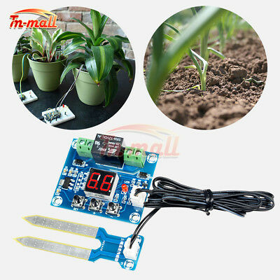 12V LED Soil Moisture Controller Humidity Sensor Automatically Watering Control