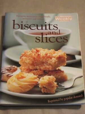 WOMENS WEEKLY COOKBOOK COOKING RECIPES BISCUITS AND SLICES COOKIES master chef