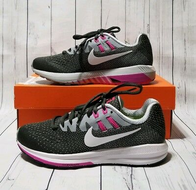 ae01613d9a37 NIKE WOMEN S AIR Zoom Structure 20 Running Shoes (849577-006) Size 5 ...