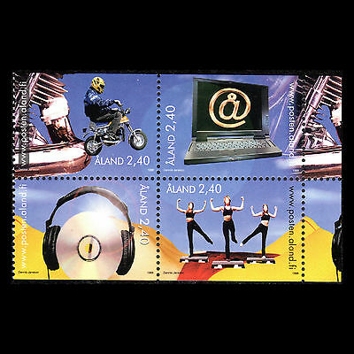 Aland 1998 - Youth Activities Sports Technology - Sc 143a MNH
