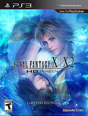 Final Fantasy X/X-2 HD Remaster (LIMITED EDITION) Ps3 Sony Square Enix