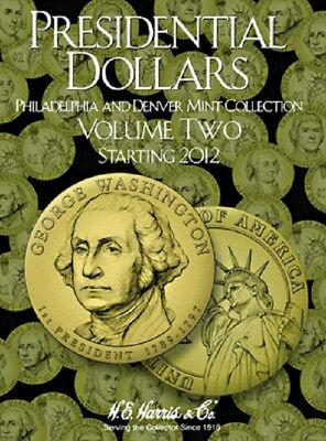 1 Harris Coin Folder 2278 Collection For P&D Presidential Dollars No.2 2012-Date