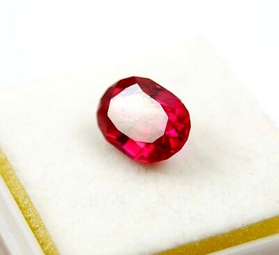 GGL Certified Natural 5.60 Ct Oval Cut Red Ruby Mozambique Gem Best Offer