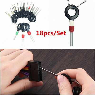 Universal Car Wire Terminal Removal Tool Wiring Connector Pin Extractor Puller