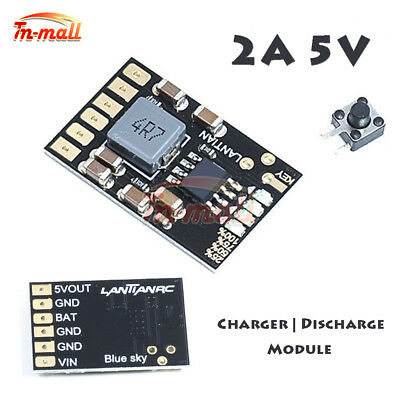 2A 5V Li-ion Battery Charger Discharge Module 3.7V 4.2V Charge Boost Board