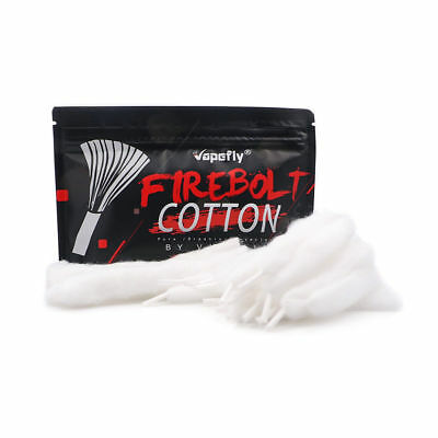 Vapefly Firebolt Cotton ecigarette accessory for atomizer Japan Organic Cotton