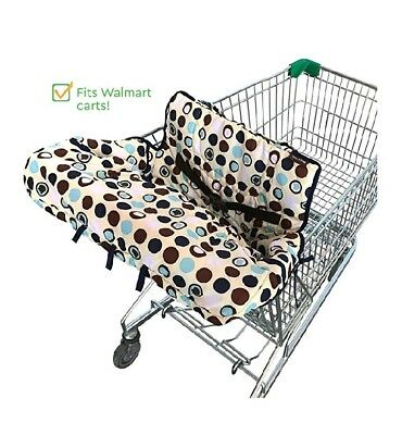 Crocnfrog 2-in-1 Shopping Cart Cover - Baby High Chair Cover
