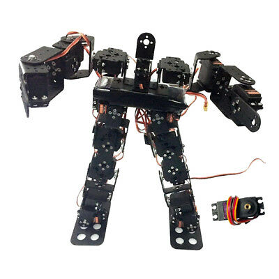 17-DOF Biped Humanoid Kit with SR319 Digital Servos and Controller
