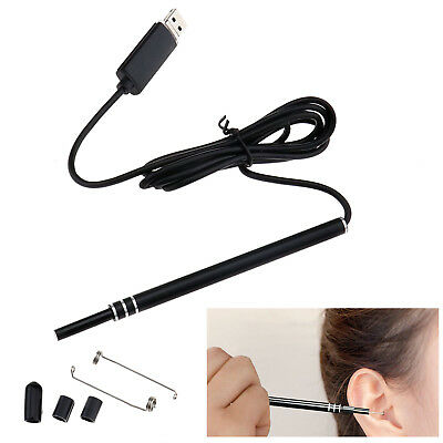 Health Care Ear Pick Wax Remover Cleaner Scope Endoscope Pen Camera PC USB Tool