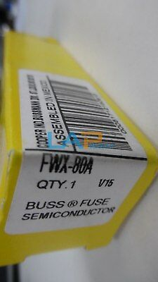 1PCS NEW For BUSSMANN COOPER FWX-80A FUSE SEMICONDUCTOR #ZY