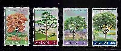 1979 NATIONAL TREE PLANTING DAY, Malawi, mint set of 4, MNH MUH