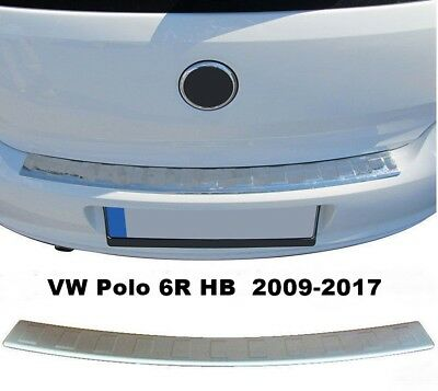Toyota Proace 2016Up Chrome Rear Bumper Protector Scratch Guard S.Steel SHORT