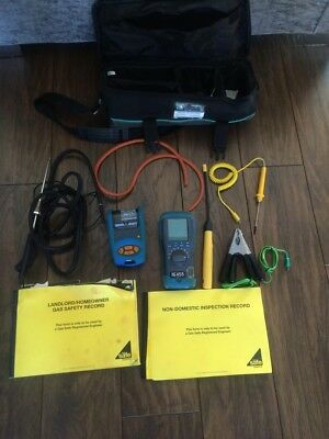Kane 455 Flue Gas Analyser With Accessories And Infra Red Printer