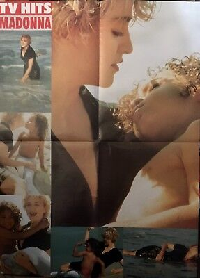 PIN-UP POSTER Madonna Large A2 size From Hit Songwords OZ Mag CRAIG McLachlan