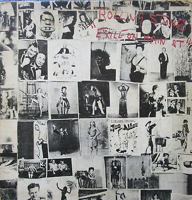 The Rolling Stones ‎Exile On Main St. Vinyl 2 x LP Australia 1972 Record
