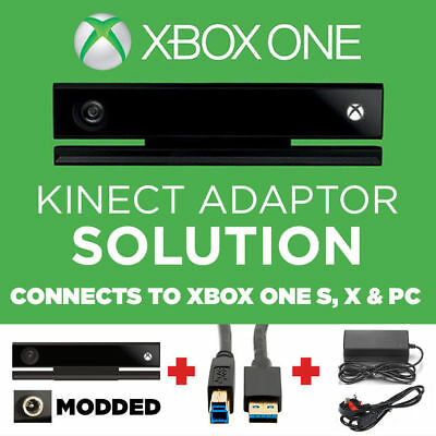 KINECT SENSOR V2 with Adapter for  WINDOWS 10 XBOX ONE S 3D SCANNING MOTION VR