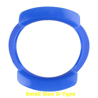 1PC Blue Dental Teeth Whitening Cheek Retractor Mouth Opener O Type Small Size