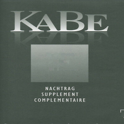 Kabe Stamp Album Supplements ranging from 1997-2014 Choice of Country and Year