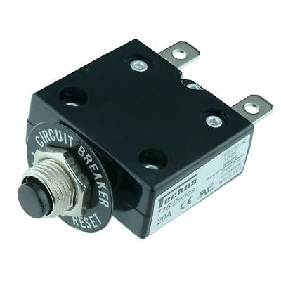 T1606 Techna 6A Thermal Panel Mount Circuit Breaker High Quality