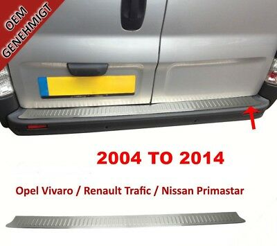 BOXER//DUCATO//JUMPER//RELAY Stainless Steel Chrome Rear Bumper Protector Scratch Guard