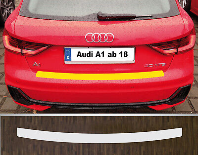 Clear Protective Foil Bumper Protection Transparent Audi A1, from 2018