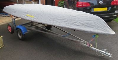 Boatworld Laser Dinghy Undercover beschermhoes
