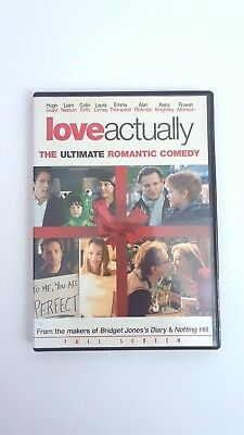 Love Actually Full Screen Edition Christmas Movie Hugh Grant Liam Neeson Colin