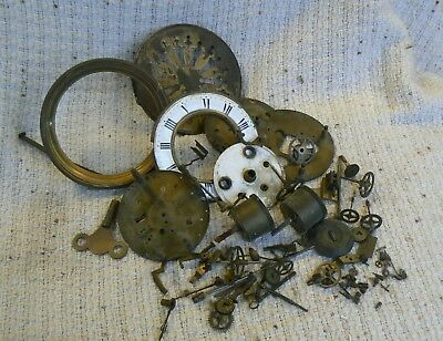 French Clock Dismantled