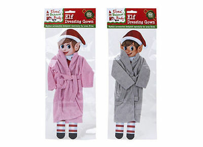 1 x Dressing Gown for Elf Behavin' Badly Naughty Elf Festive Decoration Kids Xma