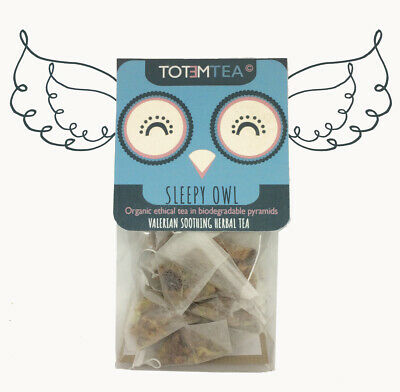 Organic Valerian Marigold Chamomile sleep herbal tea- Ethical - loose or bags