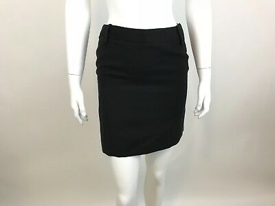 f0d4e72c VERSACE JEANS COUTURE MINI SKIRT TRIMMED IN Leather ? Denim Skirt ...