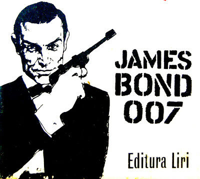 3 HUNGARIAN Books JAMES BOND 007 Photo COVERS Movie SEAN CONNERY Goldfinger MORE