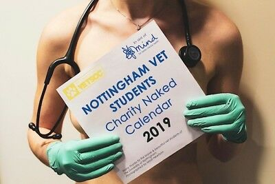 VetSoc Naked Calendar for MIND Charity