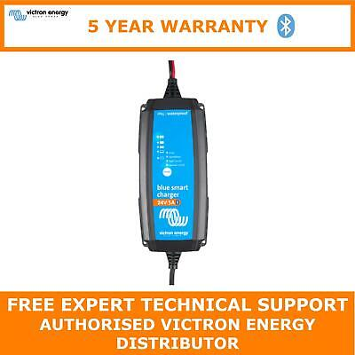 Victron Energy Blue Smart IP65 Charger 24/5(1) 230V CEE 7/16 Retail- BPC24053103