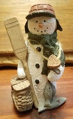 Sarah's Attic Limited Edition 1996 Woody The Snowman 333 of 4000 Signed