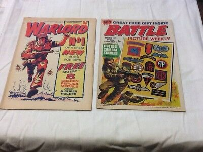 Warlord and Battle Comic Number One