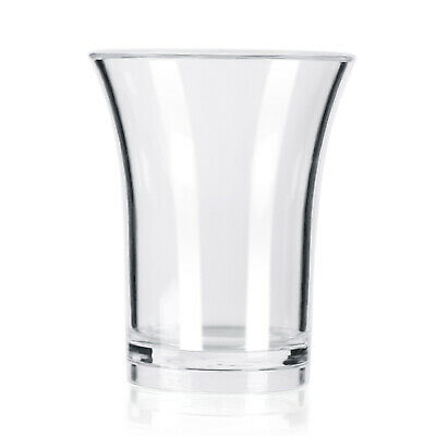 Plastic Shot glass reusable - CE marked 25ml - Pack of 100