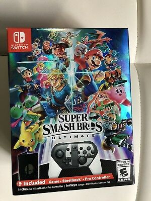 Super Smash Bros Ultimate Special Edition - Nintendo Switch - *NEW SEALED*