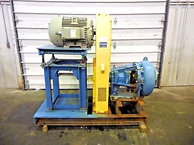 """RX-3615, METSO MM200 LHC-D 8"""" x 6"""" SLURRY PUMP W/ 75HP MOTOR AND FRAME"""
