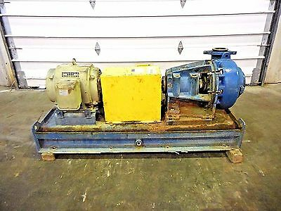 """RX-3639, METSO MM150 LHC-D 6"""" x 4"""" SLURRY PUMP W/ 15HP MOTOR AND FRAME"""